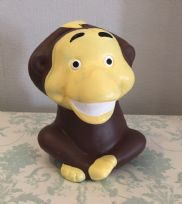 Monkey ~ Children's Ceramic Animal Money Bank